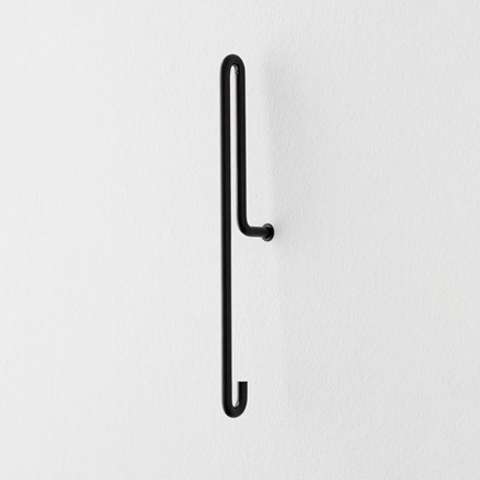 Moebe Wall Hook Large Black