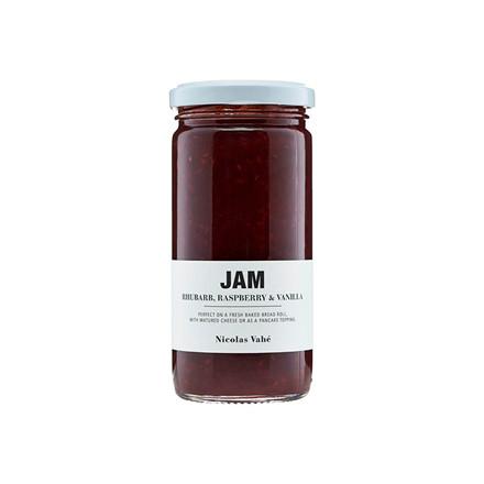 Nicolas Vahé Rhubarb, Raspberry & Vanilla Extra Jam