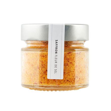 Nicolas Vahé Fleur de Sel Salt med Safran