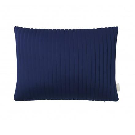 Nomess Linear Memory Pillow Rectangular Blue