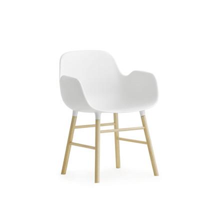Normann Cph Form Chair Miniature Hvid