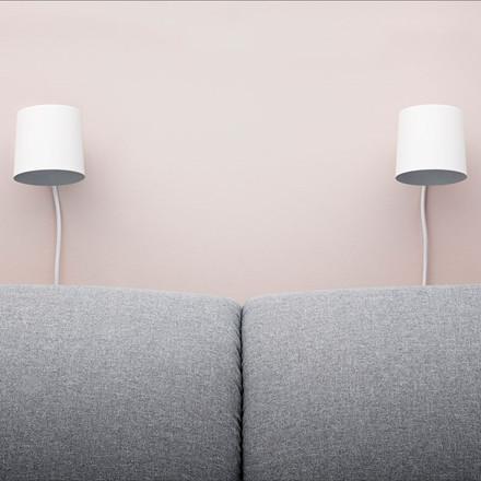 Normann Cph Rise Wall Lamp White