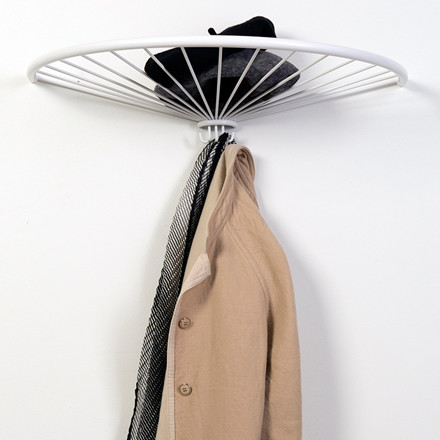 OK Design Pinna Hat Shelf White