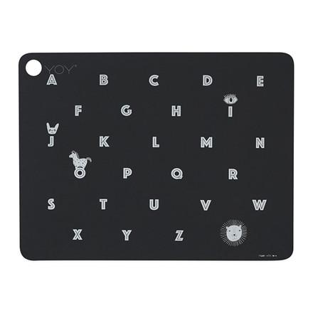 OYOY Alphabet Placemat