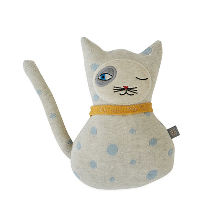 OYOY Baby Benny Cat Darling Cushion