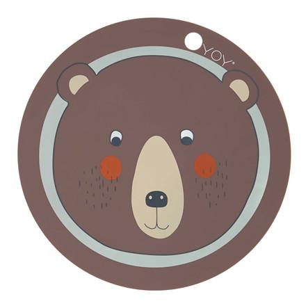 OYOY Bear Dækkeserviet
