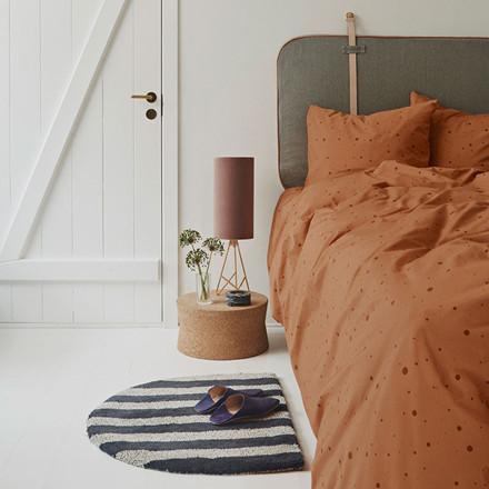 OYOY Dot Bedding Caramel Adult