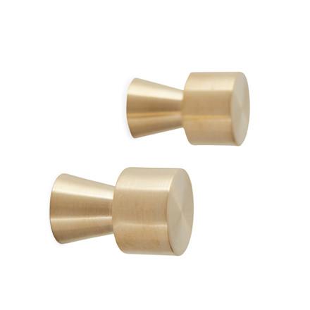 OYOY Pin Hooks Brass