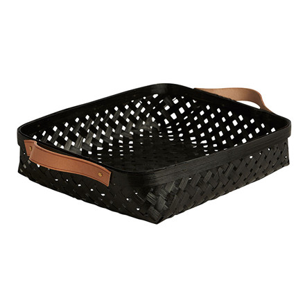OYOY Sporta Bread Basket Black Small