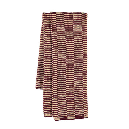 OYOY Stringa Mini Towel Aubergine