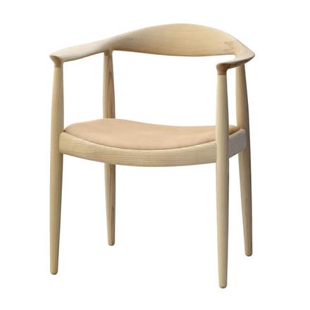 PP Møbler PP503 Den Runde Stol Polstret Sæde