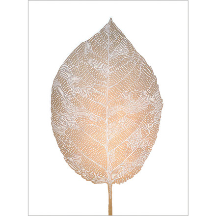 Monika Petersen Leaf White
