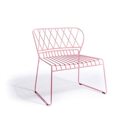 Skargaarden Resö Lounge Chair Pink