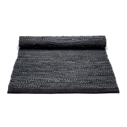 Rug Solid Black Skindtæppe