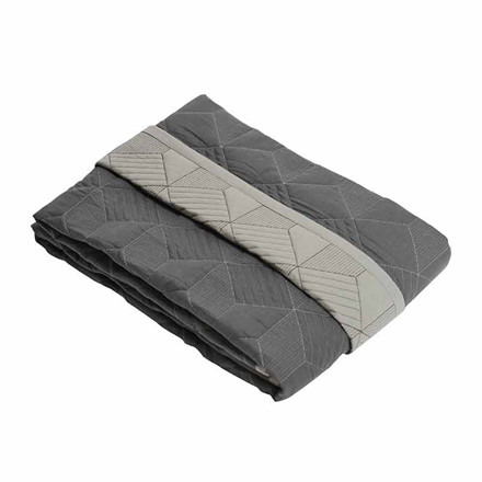 Semibasic COVER Bedspread Grey
