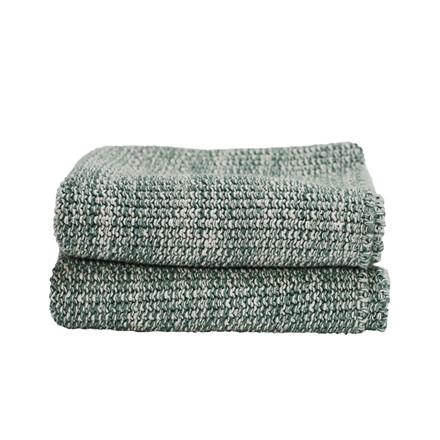 Semibasic HAND Knit Towel Green