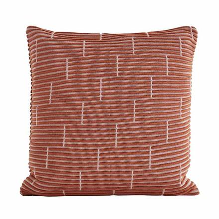 Semibasic STILL Wall Cushion Amber Brick 50 x 50