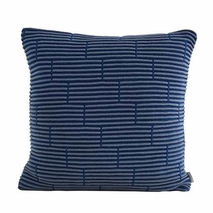 Semibasic Still Wall Cushion Dusty Blue Brick 50 x 50