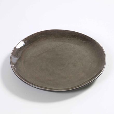 Serax Round Plate Grey