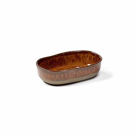 Serax Merci Deep Plate No. 8 S Ocre/Brown