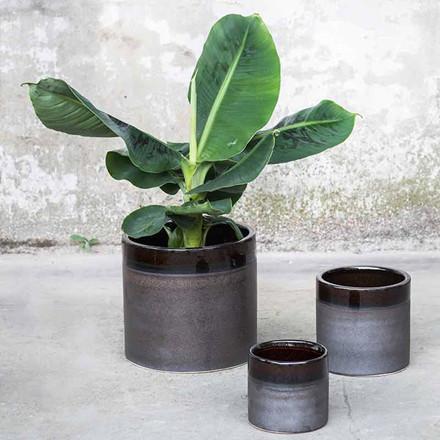 Serax Pot Brown Glaze L