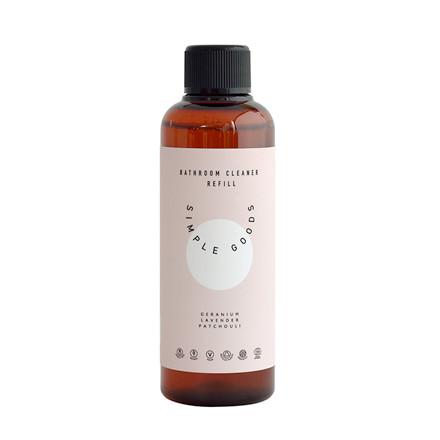 Simple Goods Refill Bathroom Cleaner Geranium