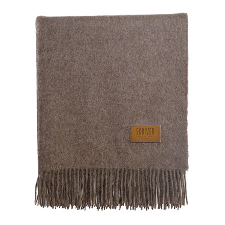 Skriver Collection Baby Alpaca Plaid Brown