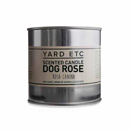 Yard Etc Scented Candle Dog Rose