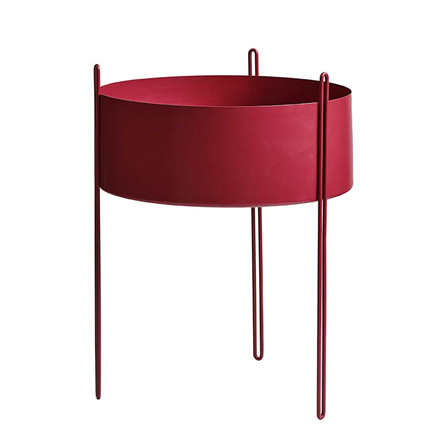 WOUD Pidestall Flower Pot Red Large