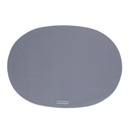Ørskov & Co. Rubber Placemat Oval Antracit Grey