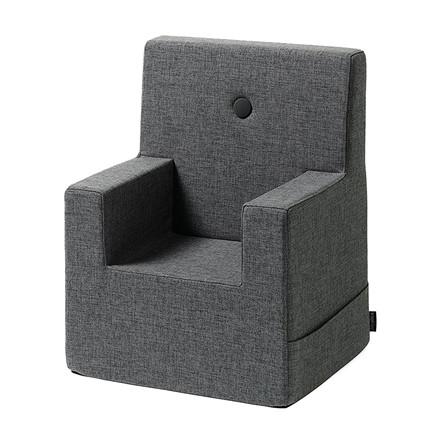 By KlipKlap Kids Chair XL Blue Grey W. Grey