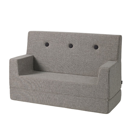 By KlipKlap Kids Sofa Multi Grey W. Grey