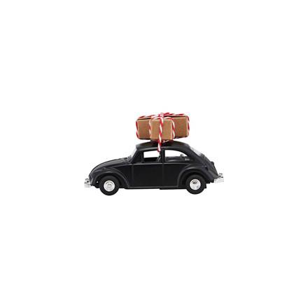 House Doctor Mini Xmas Car Black