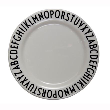 Design Letters Tallerken Melamin