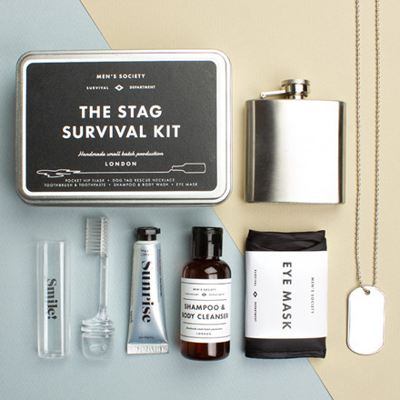 Men's Society The Stag Survival Kit