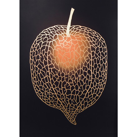 Monika Petersen Chinese Lantern Gold/Black/Rust