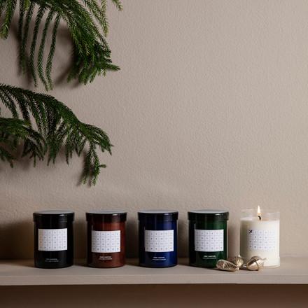 Ferm Living Scented Candle Christmas Calendar Black