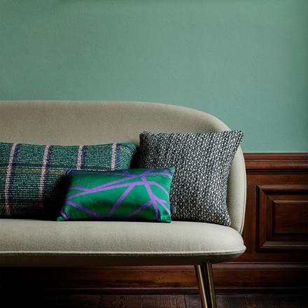 Normann Cph Flair Cushion Green Bouclé