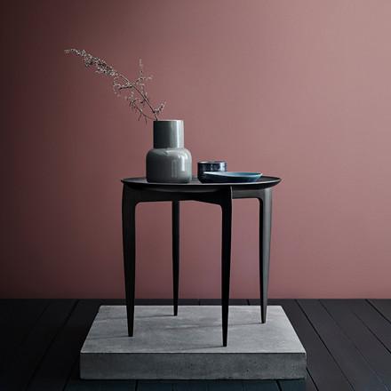 Fritz Hansen Objects Foldable Tray Table Black