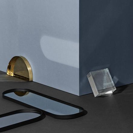 AYTM Margo Mirror Tray Black