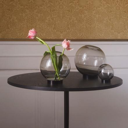 AYTM Globe Vase Black Ø 10 cm