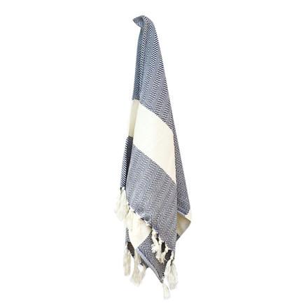 Algan Balik Gæstehåndklæde XS Navy