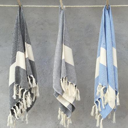 Algan Elmas Gæstehåndklæde XS Sort