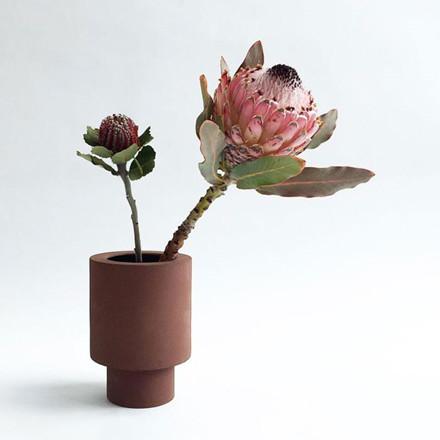 Ania ANNA Vase Burned Brown Engobe