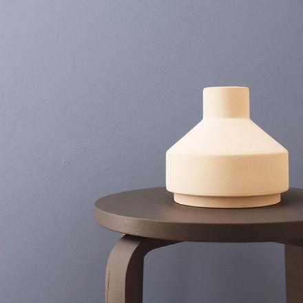 Ania EMMA Vase Light Sand Engobe