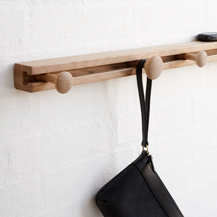 Applicata Track Coat Rack Oak