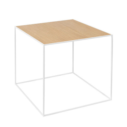 By Lassen Twin Table 42 Oak/Brass