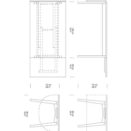 Carl Hansen CH006 Spisebord