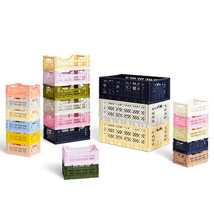 HAY Colour Crate S Nougat