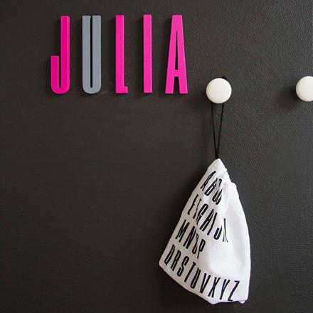 Design Letters Bogstaver Pink